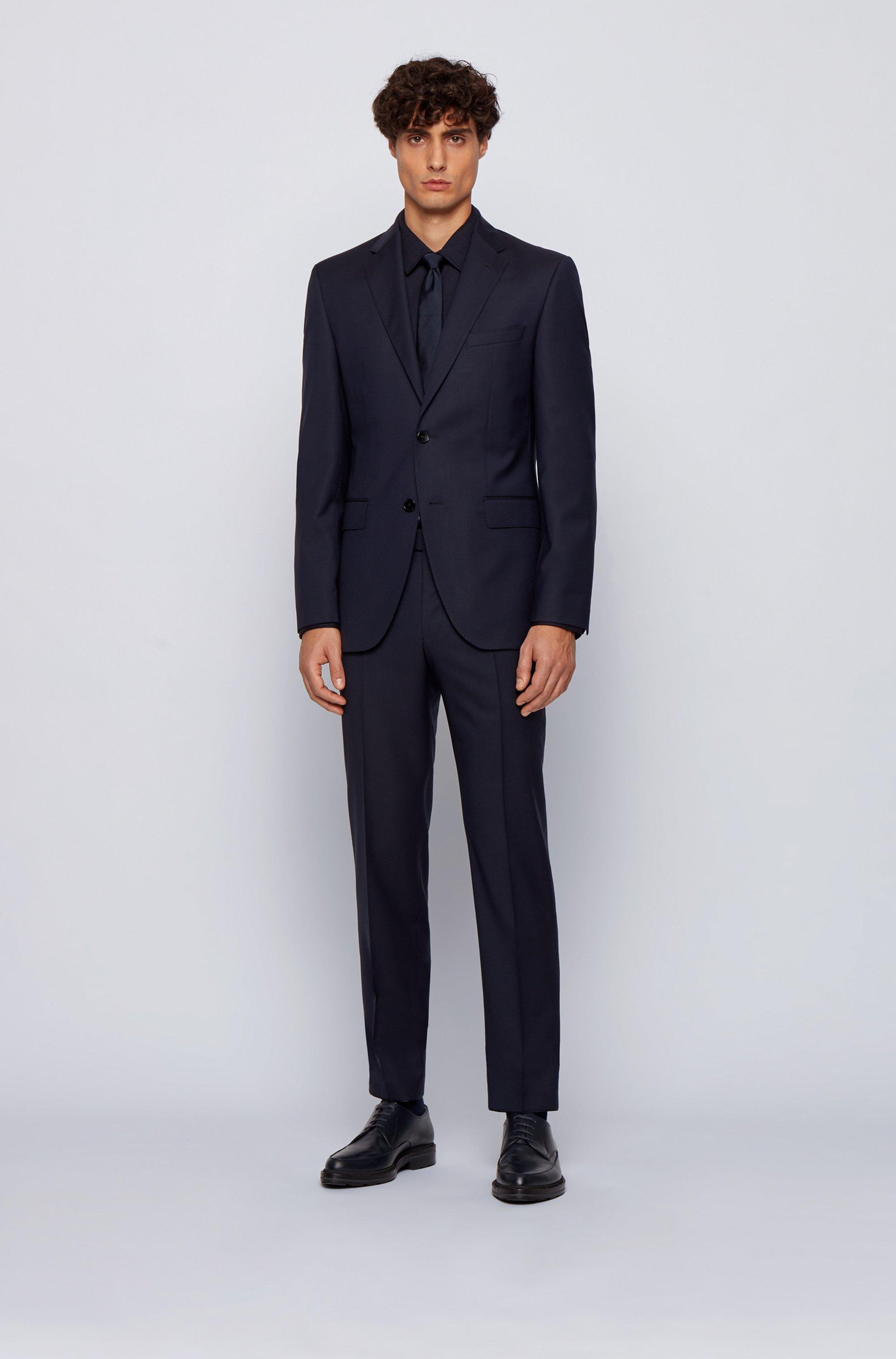 Regular-fit shirt in a cotton blend