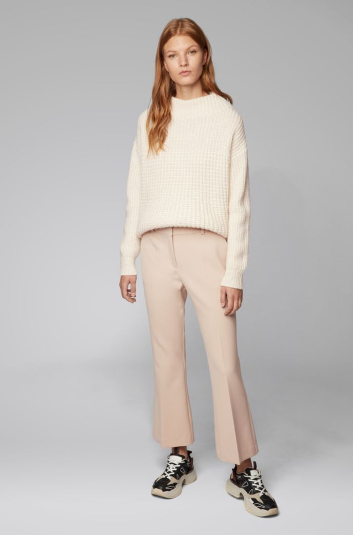 Relaxed-fit sweater in a wool blend