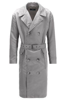 Gratisversand einzigartiges Design viele modisch Relaxed-fit coat in water-repellent fabric with belt