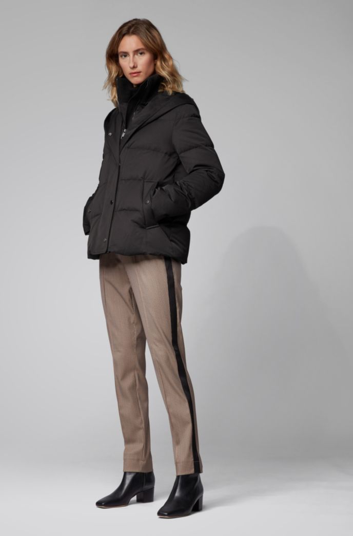 Relaxed-fit jogging-inspired pants with side stripes