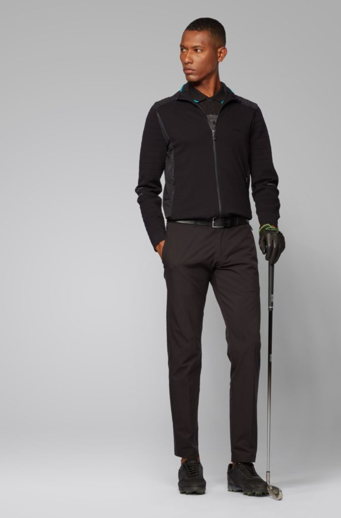 Extra-slim-fit pants in moisture-wicking ripstop fabric
