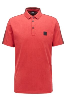 red color polo t shirt