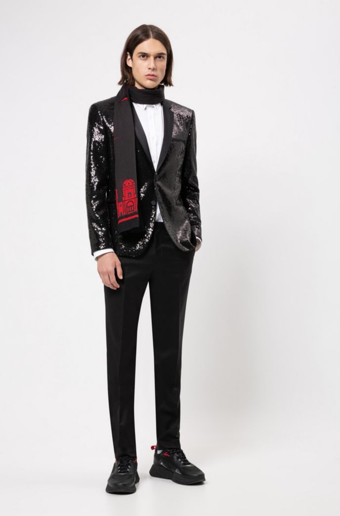 Extra-slim-fit shirt with Berlin-inspired collar detail