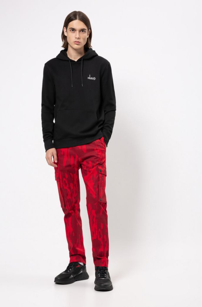 Relaxed-fit sweatshirt with Berlin-inspired artwork