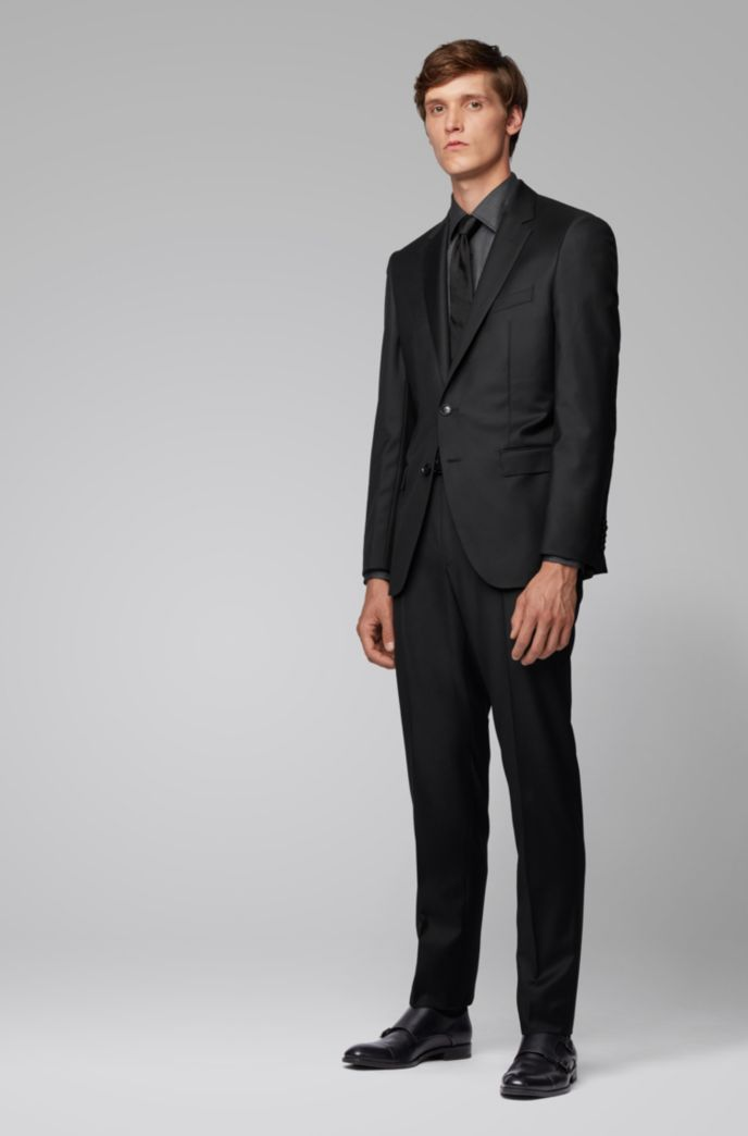 Slim-fit shirt in pinstripe Italian cotton
