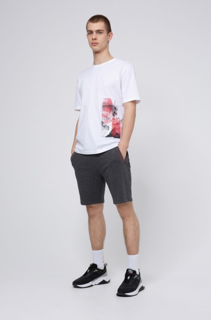 Relaxed-fit T-shirt in cotton with Berlin collection print