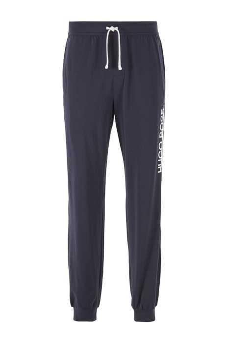 Jersey pajama pants with new-season logo, Dark Blue