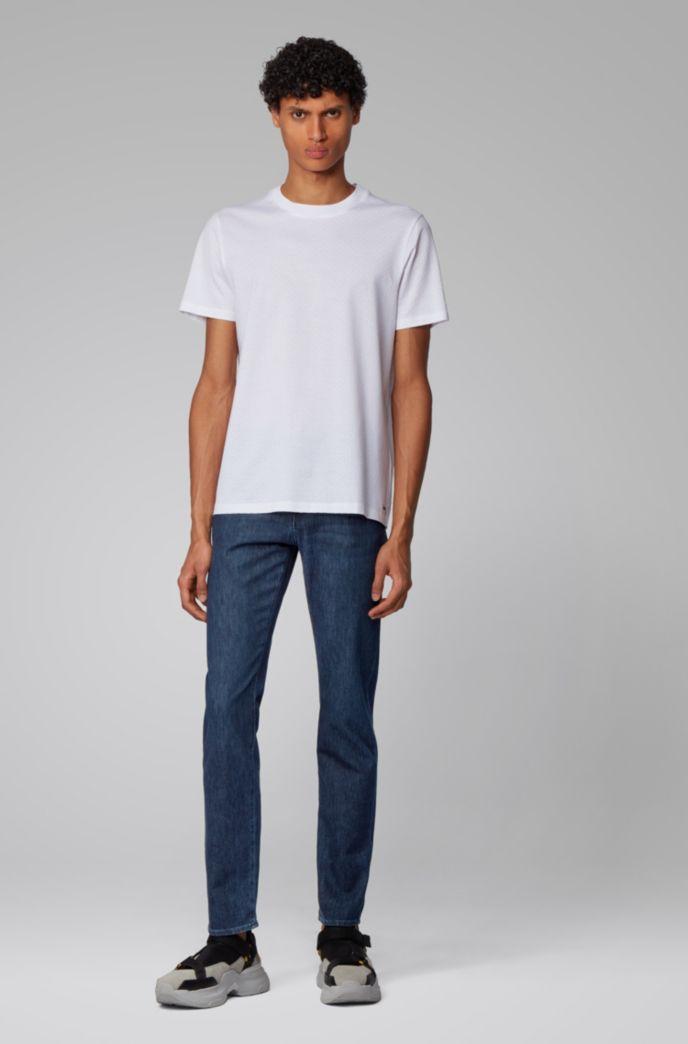 Slim-fit jeans in lightweight Italian stretch denim