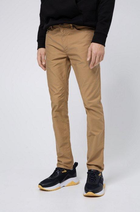 Skinny-fit jeans in lightweight stretch denim, Beige