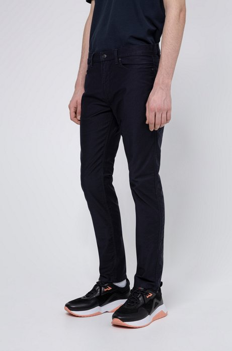 Skinny-fit jeans in lightweight stretch denim, Dark Blue