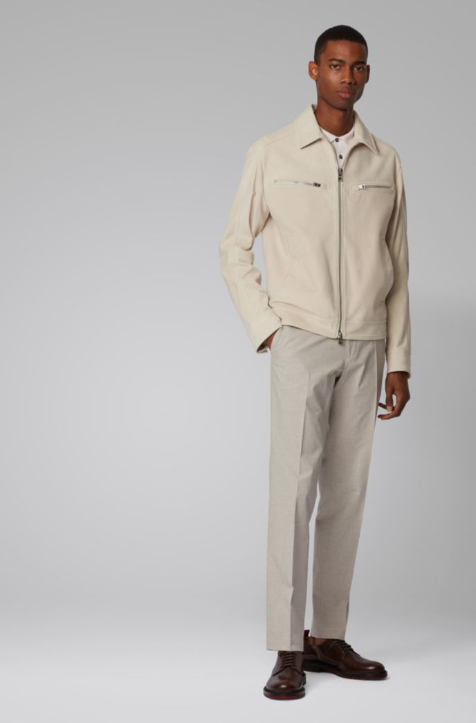 Extra-slim-fit pants in stretch cotton