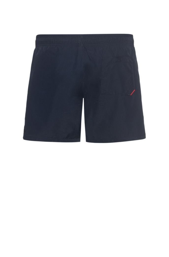 Logo swim shorts in quick-drying fabric