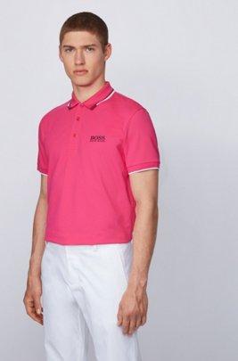 Polo de golf Active Stretch avec fibre S.Café®, Rose