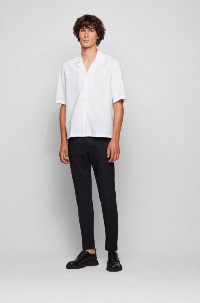 Slim-fit chinos in a stretch-cotton blend