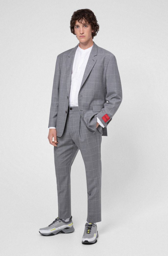 Relaxed-fit shirt with garment-washed finish