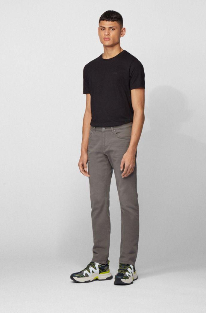 Slim-fit jeans in super-soft Italian stretch denim