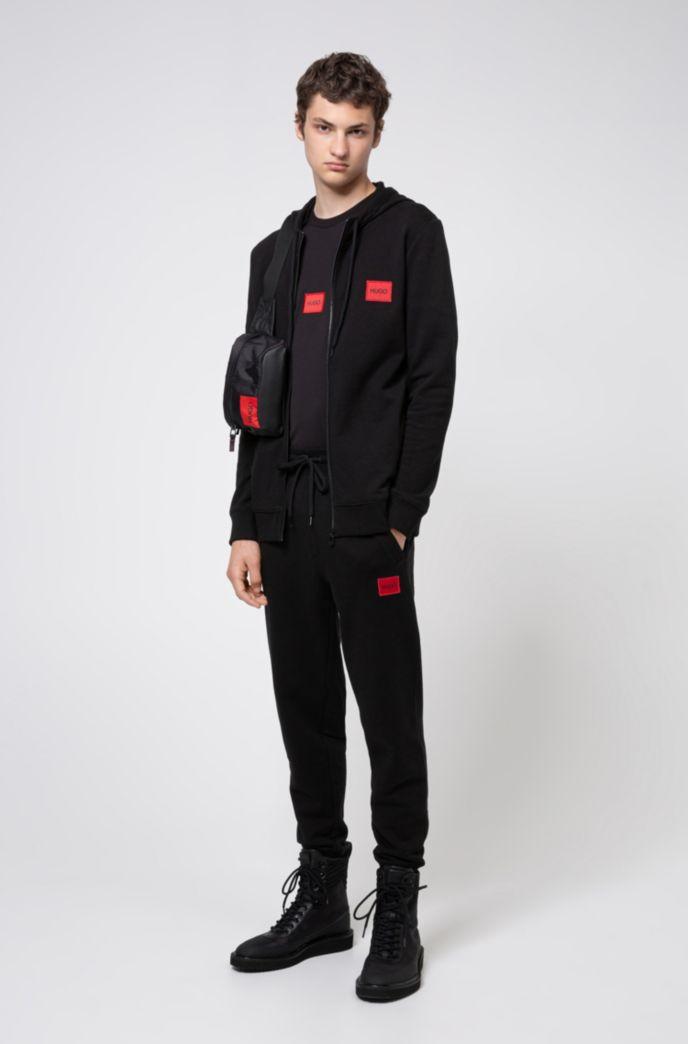Hugo Boss Daple204 Zip up Hoody Sweatshirt Navy 50435519