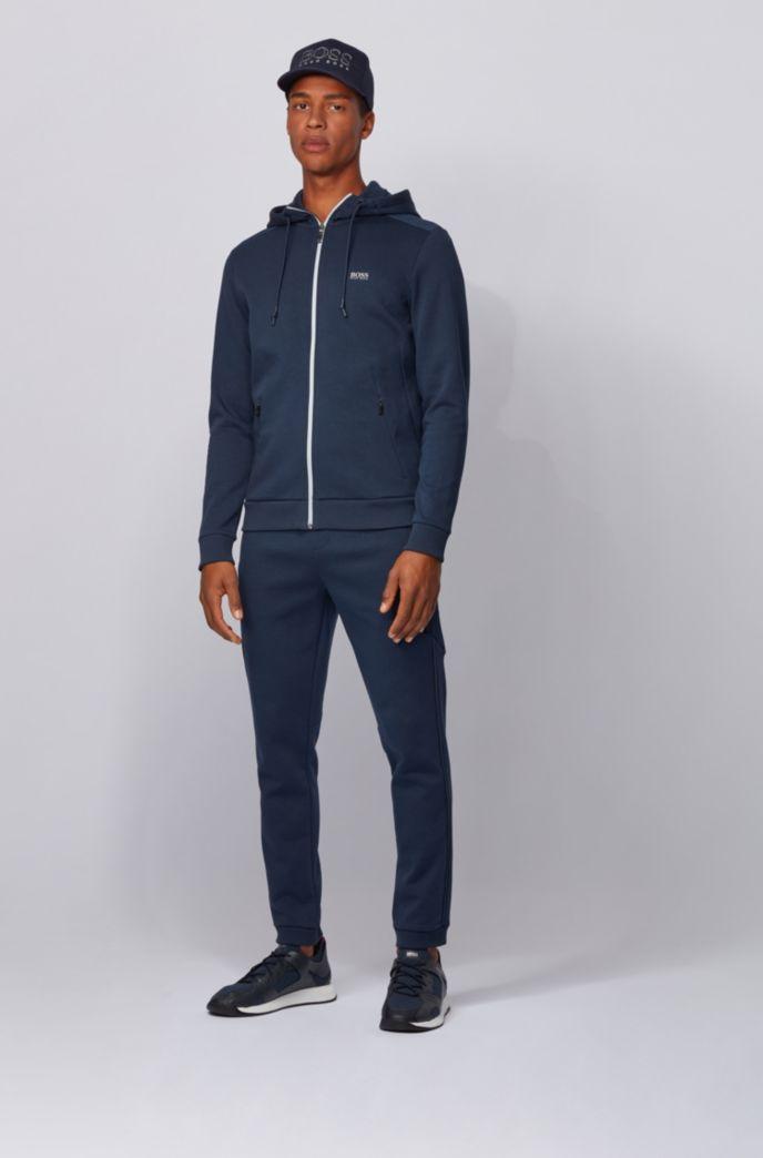 Slim-fit jogging pants with reflective details
