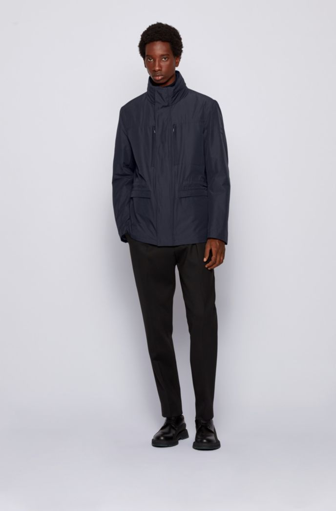 Three-in-one field jacket with detachable undershirt