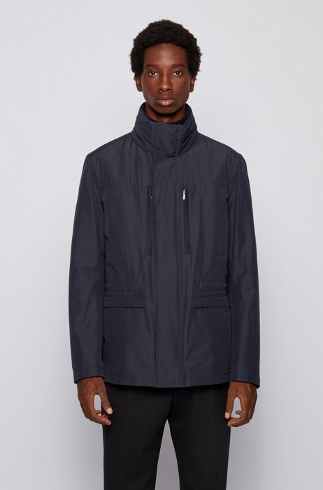 Three-in-one field jacket with detachable undershirt, Dark Blue