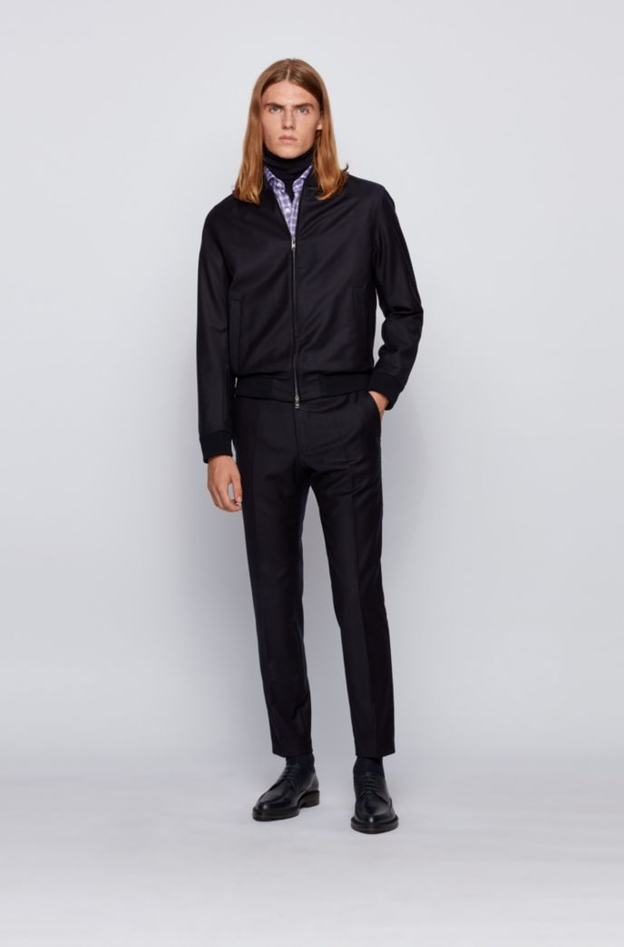 Slim-fit shirt in Vichy-check cotton