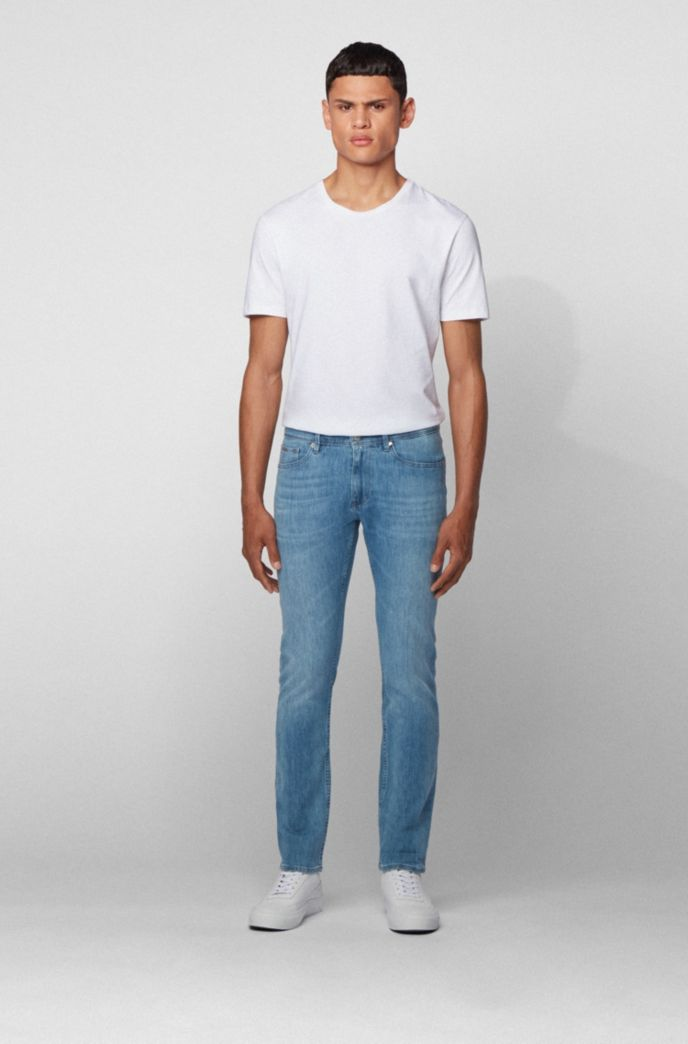 Extra-slim-fit jeans in super-soft Italian denim