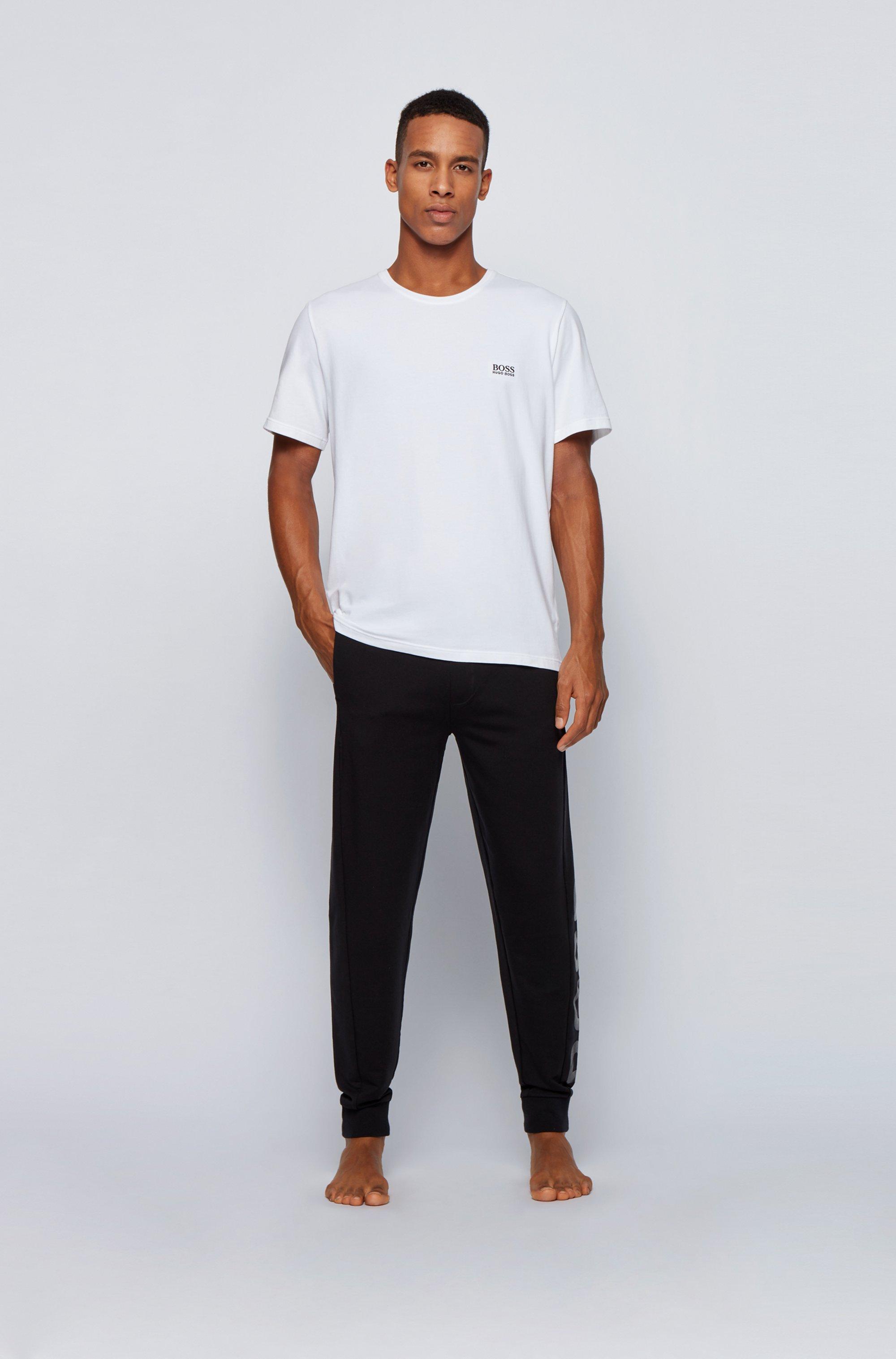 Logo loungewear pants in a lyocell blend
