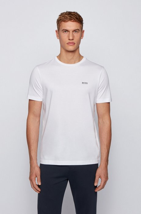 Two-pack of performance T-shirts in S.Café® jersey, Patterned