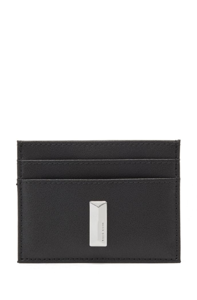 Leather card holder and headphone case gift set