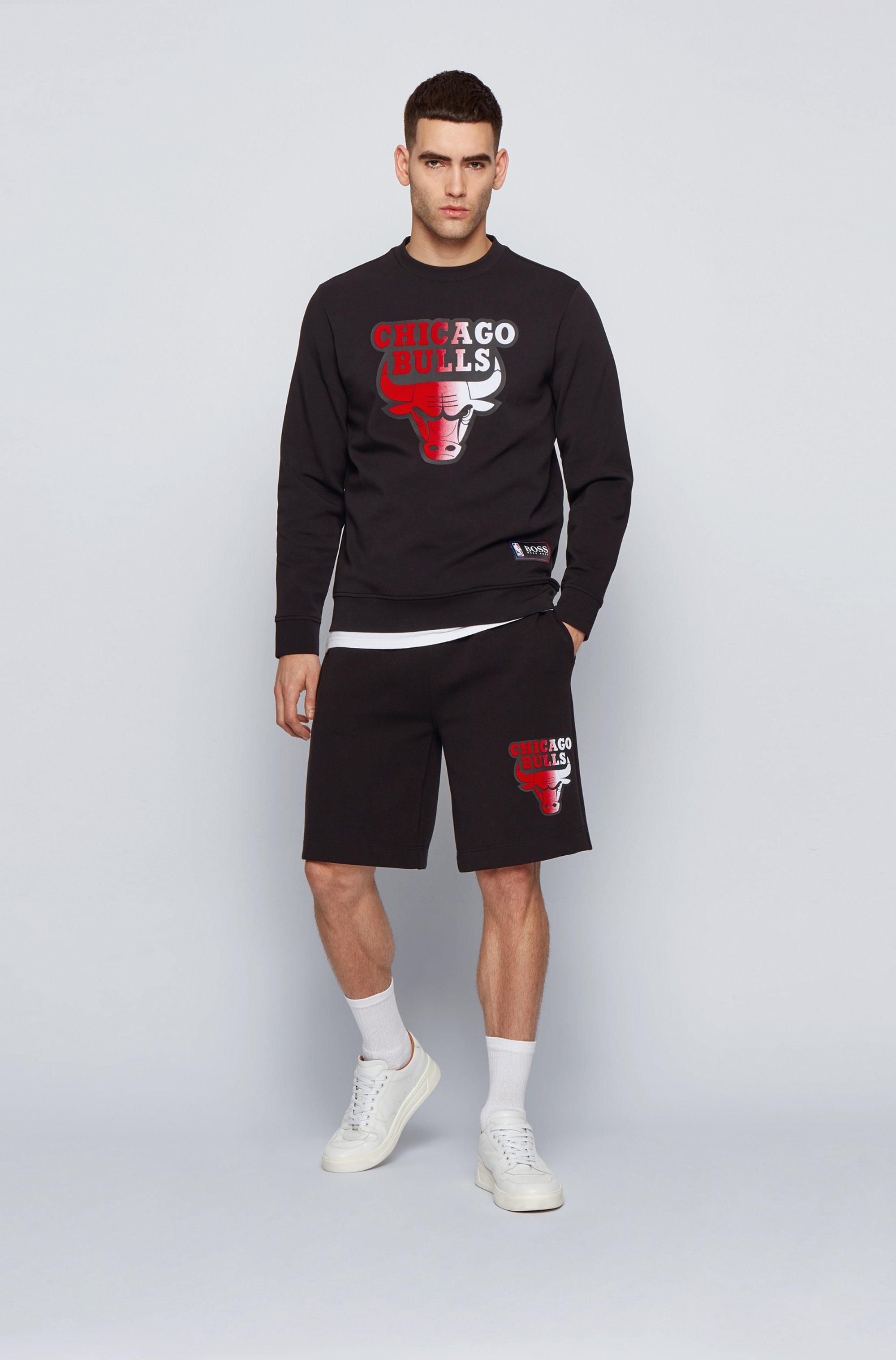 BOSS x NBA sweatshirt with team logo