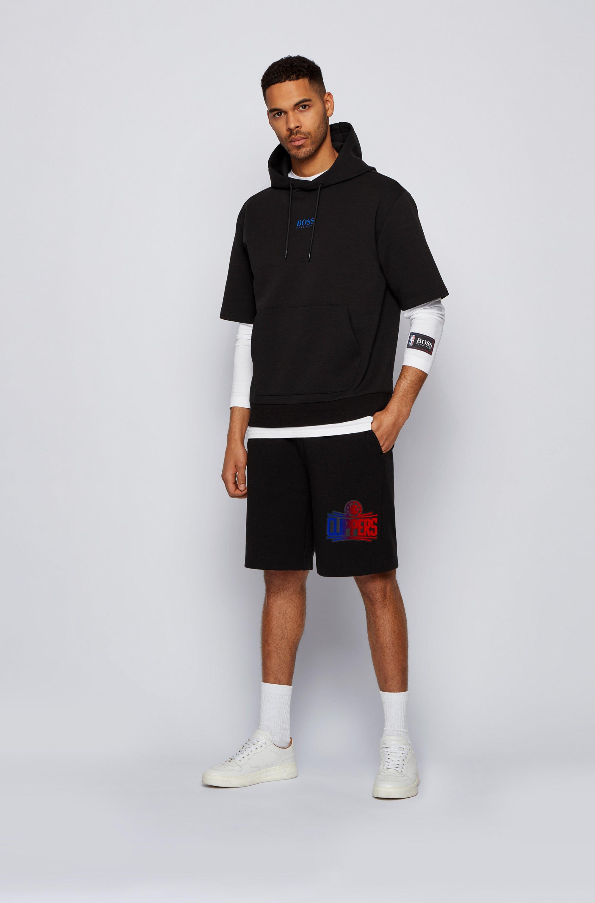 Long-sleeved T-shirt from BOSS x NBA with team logo