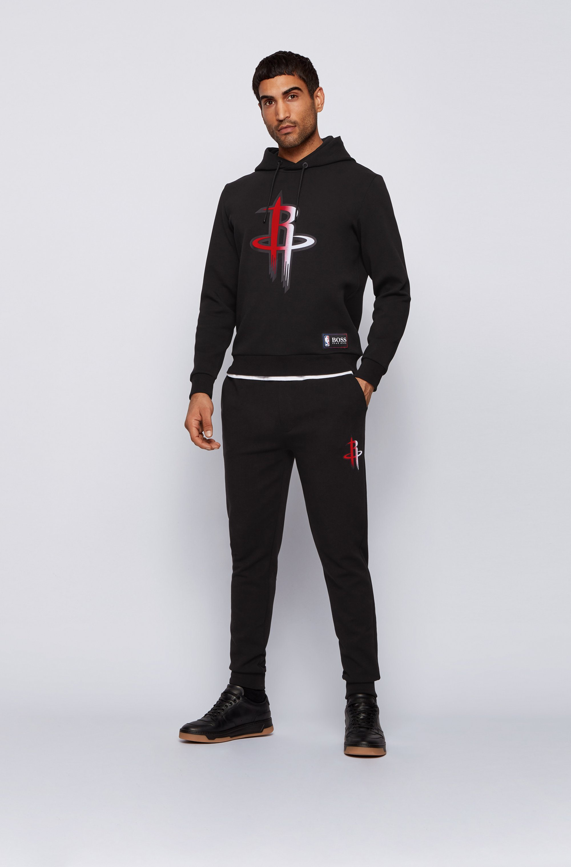 BOSS x NBA tracksuit bottoms with team logo