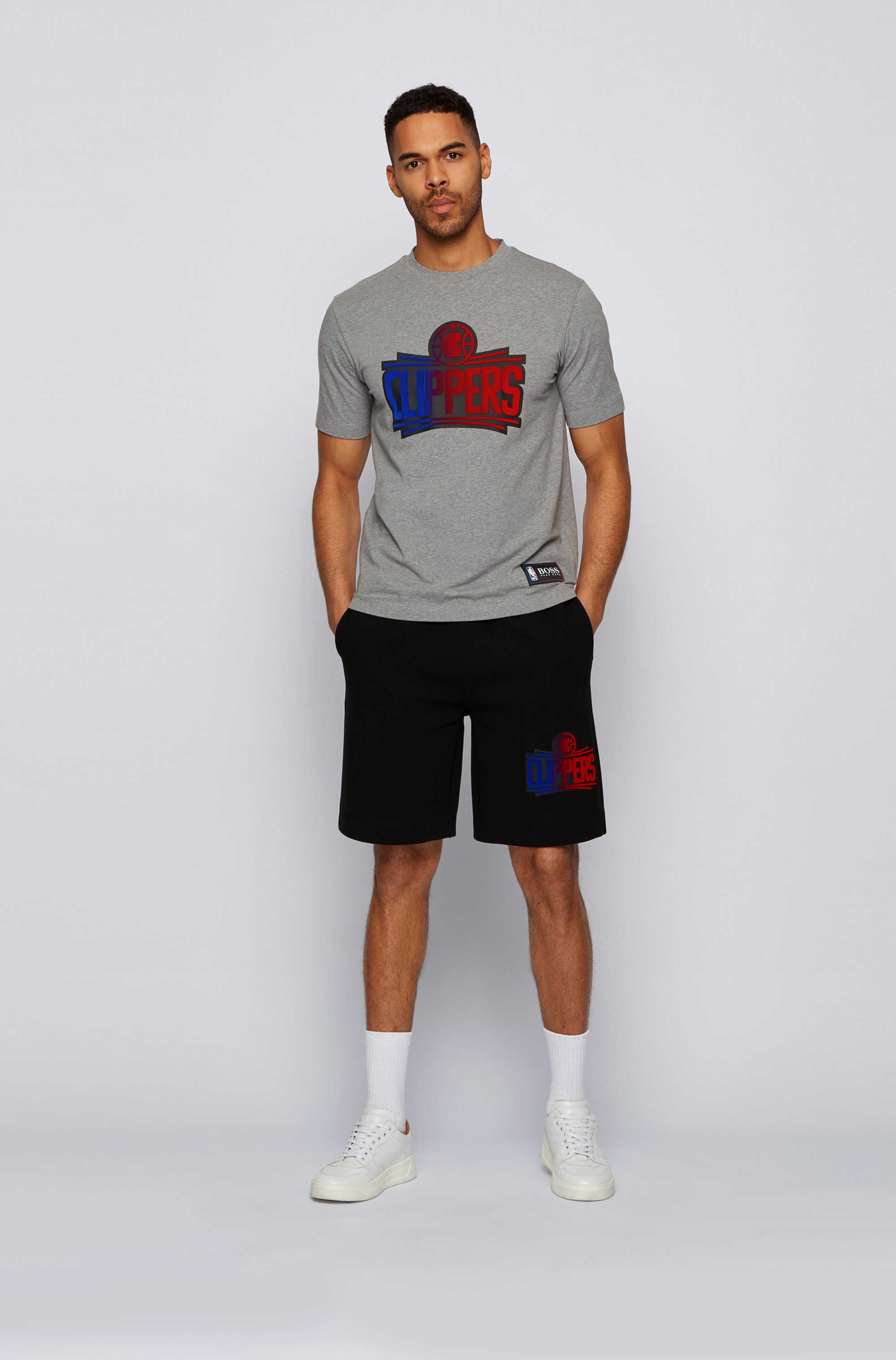 BOSS x NBA T-shirt with team logo