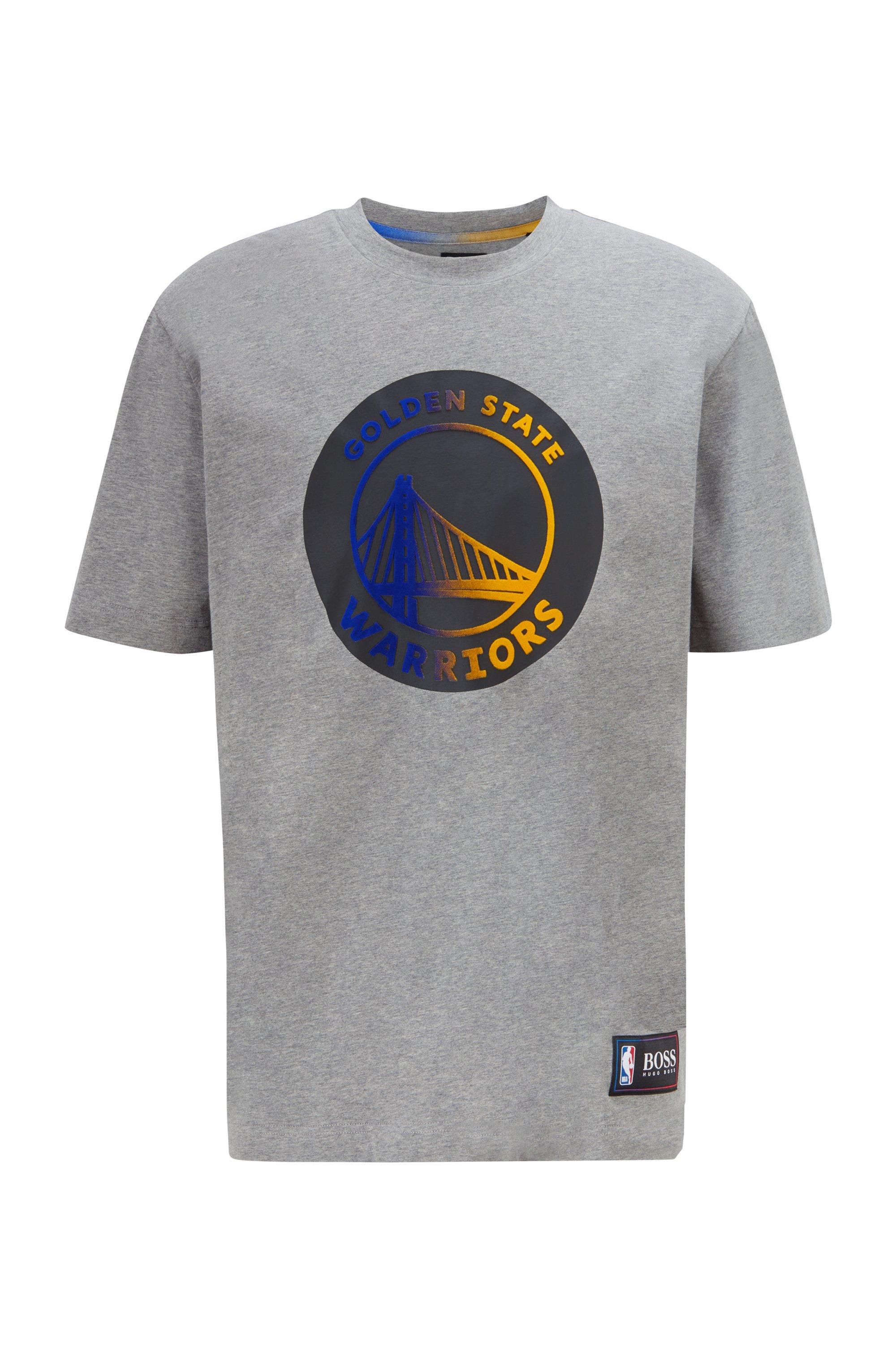 BOSS x NBA T-shirt with team logo, Silver