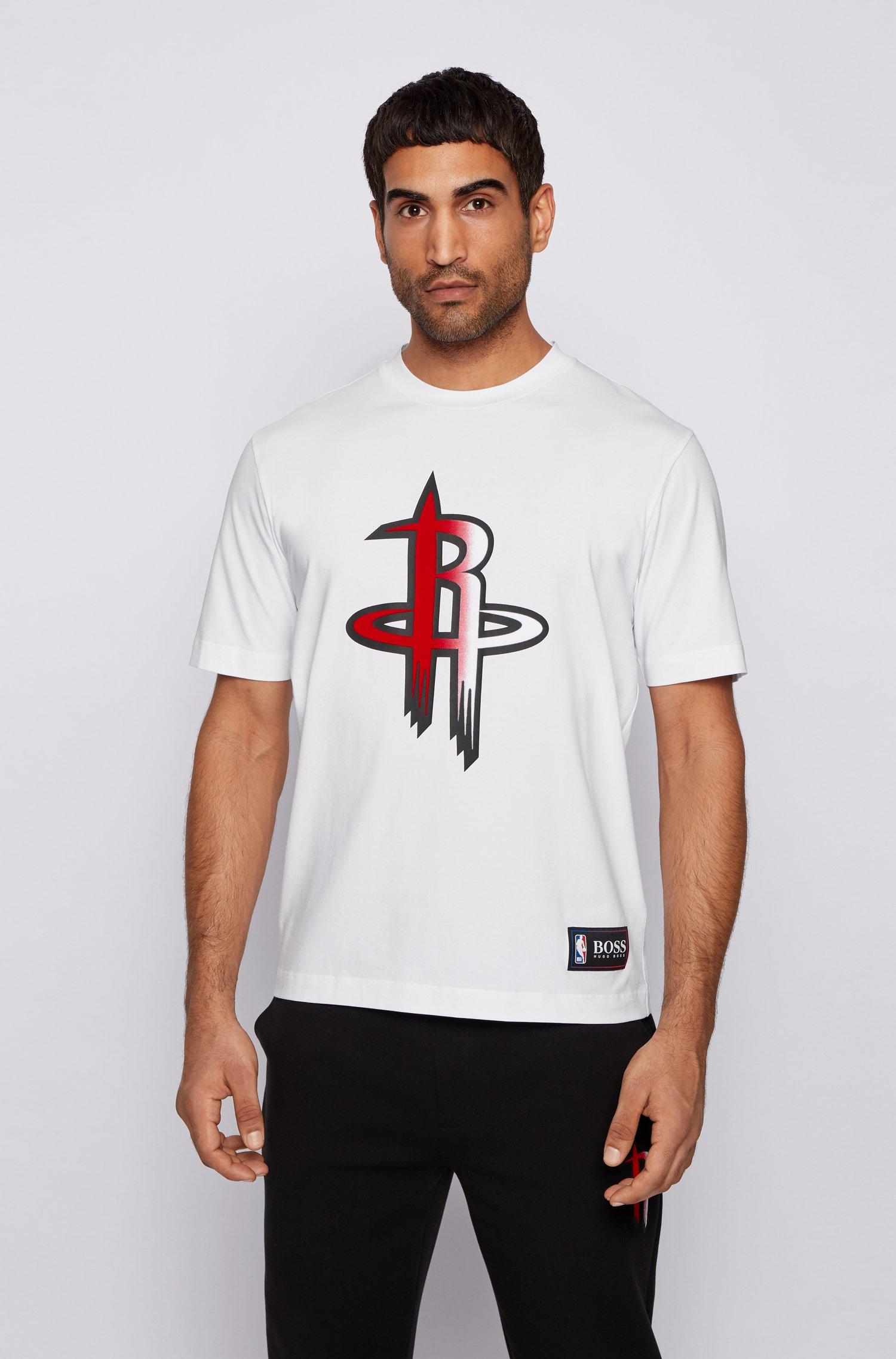 BOSS x NBA T-shirt with team logo, White