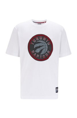 BOSS x NBA T-shirt with team logo, White