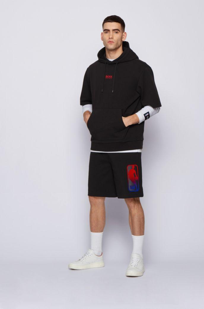BOSS x NBA drawstring shorts with team logo
