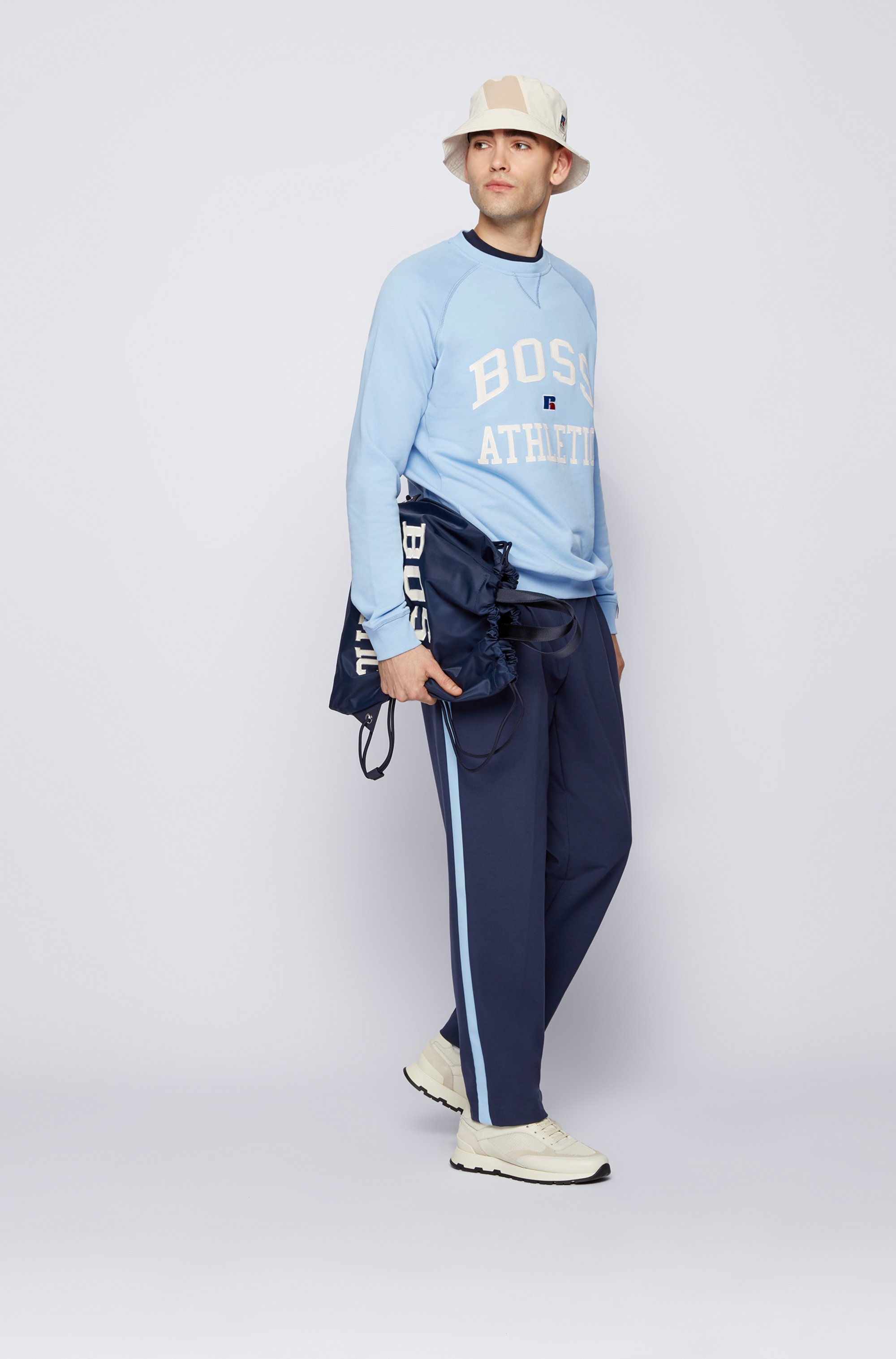 Unisex relaxed-fit sweatshirt in organic cotton with personalization