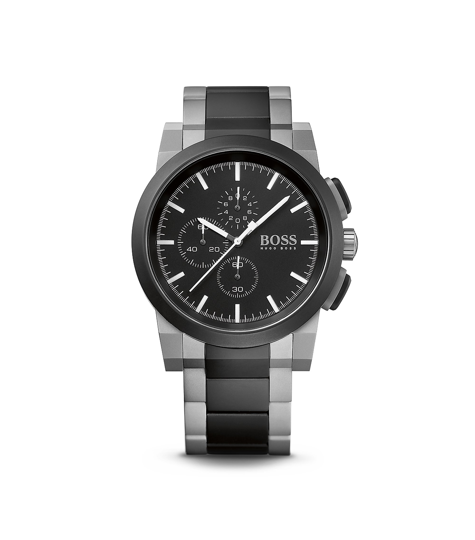 '1512958'   Chronograph Stainless Steel Bracelet Strap Neo Dial Watch , Assorted-Pre-Pack