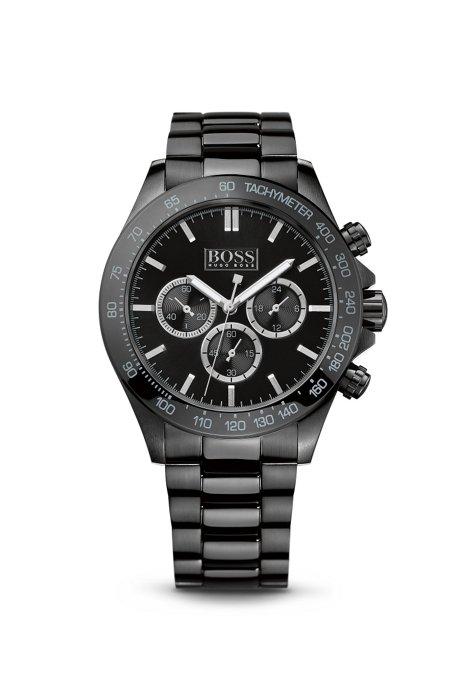 BOSS - '1512961' | Chronograph Ionic Black Plated Steel