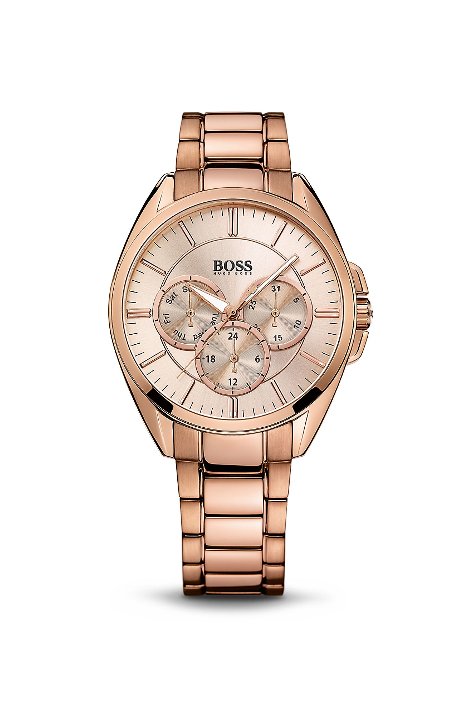'1502360' | Chronograph Rose Gold-Plated Stainless Steel Watch