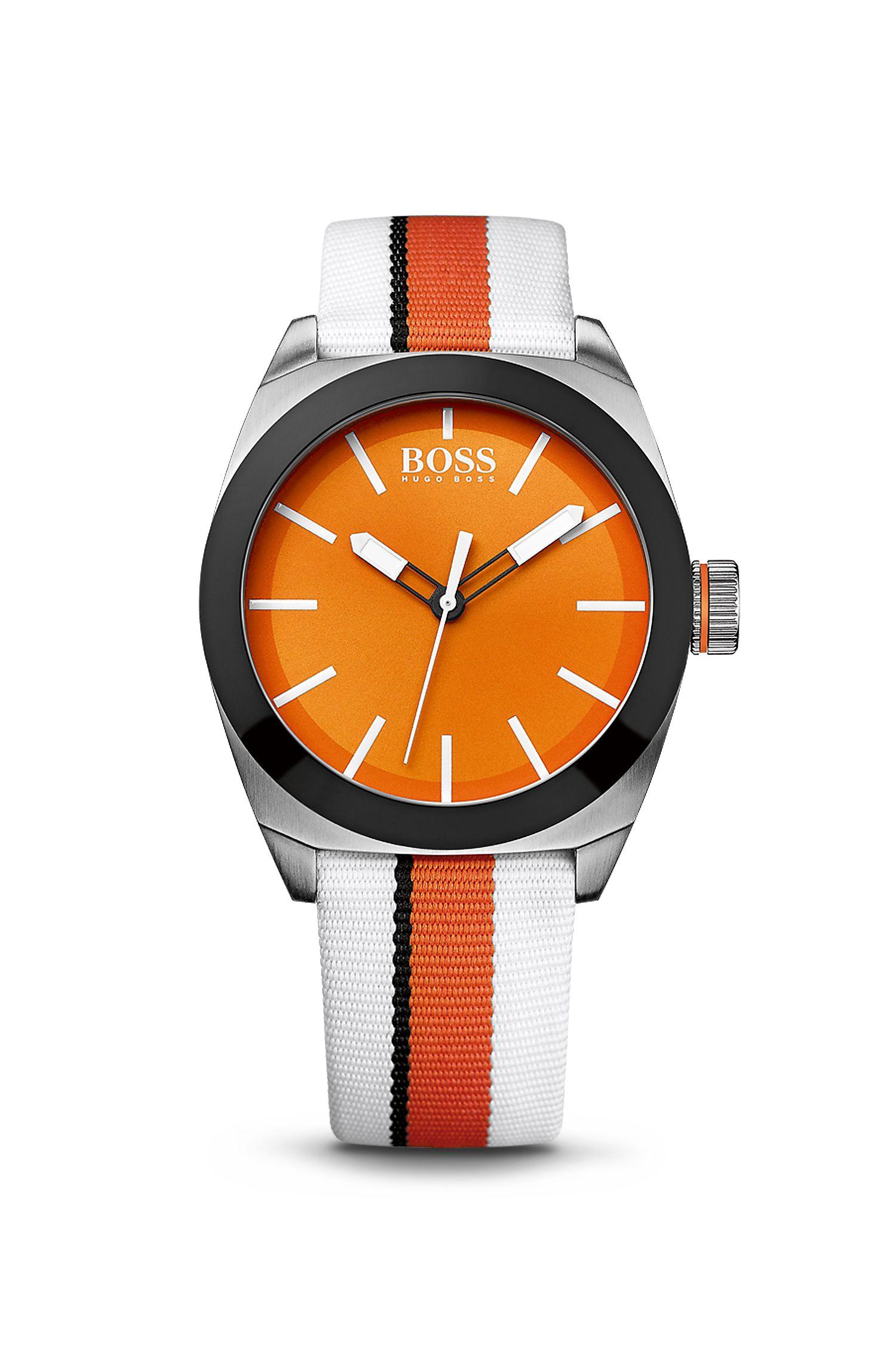 Woven Nylon Strap Watch | 1512997
