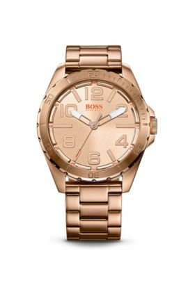 '1513003' | Ionic Rose Gold Plated Steel Strap Watch, Assorted-Pre-Pack
