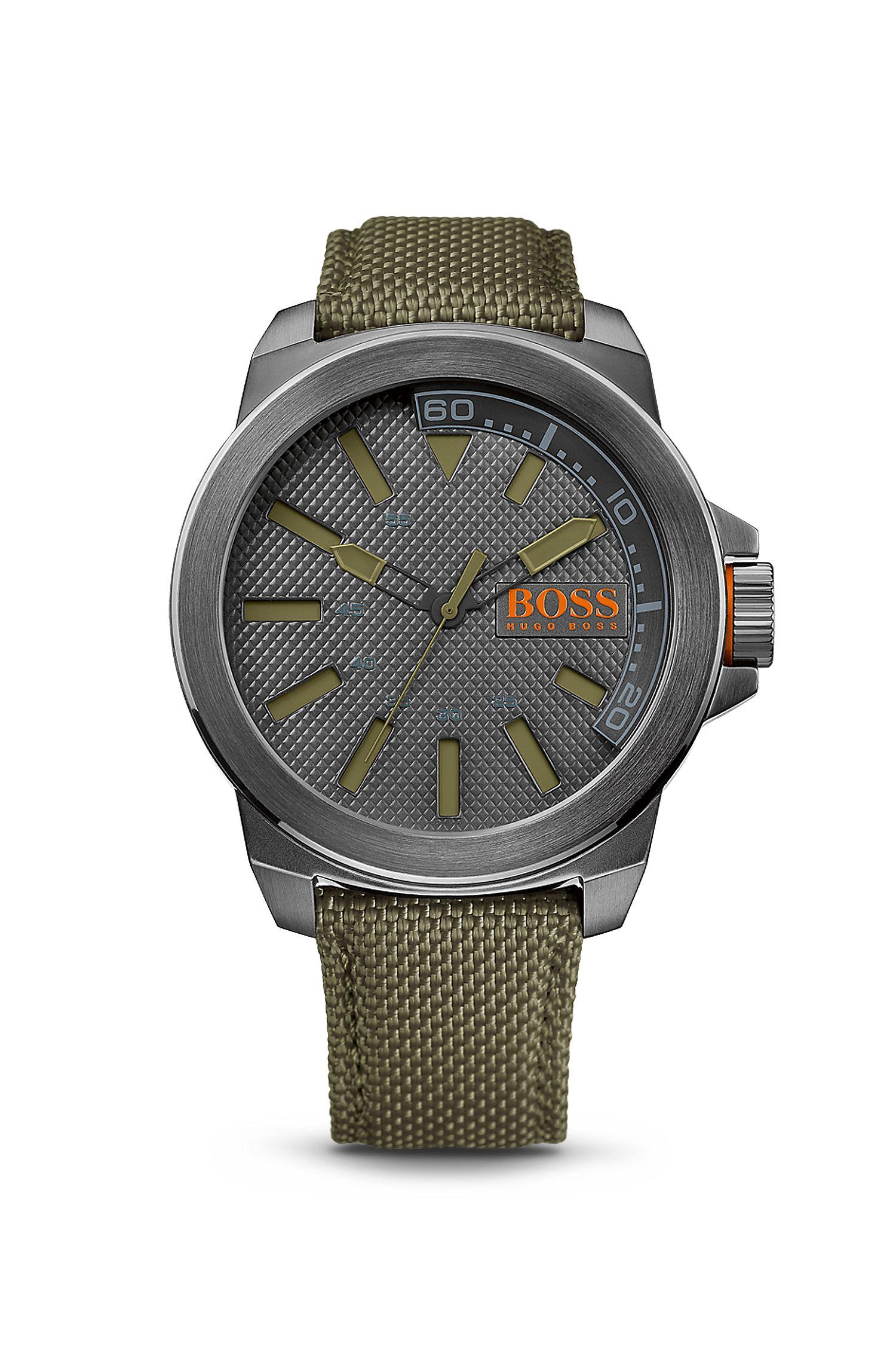 '1513009' | Woven Nylon Strap Watch