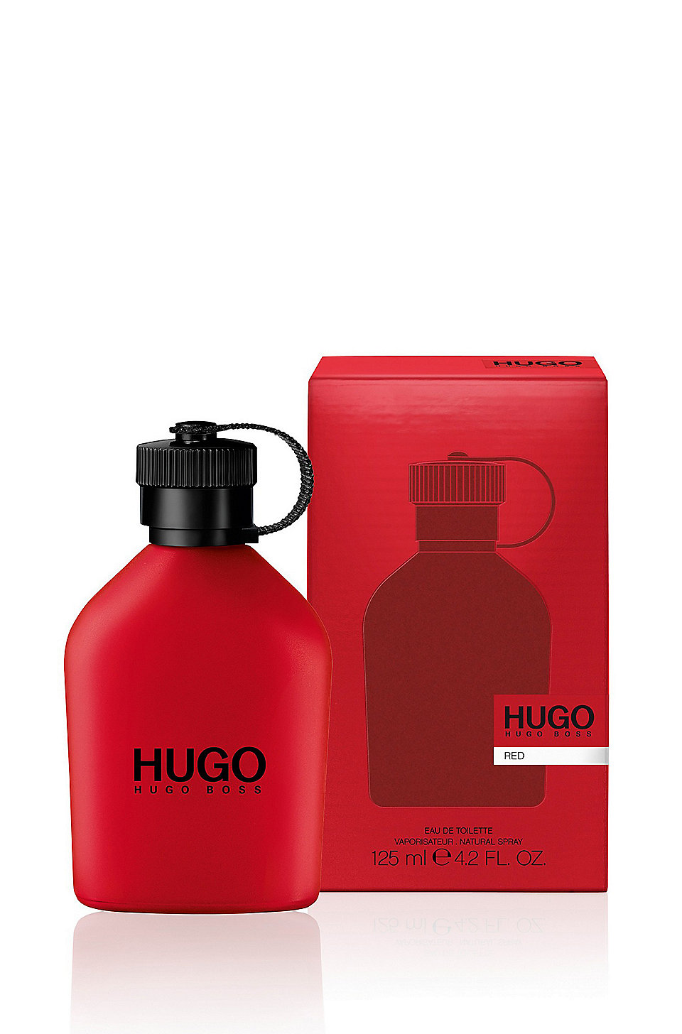 hugo 4 2 fl oz 125 ml eau de toilette hugo red. Black Bedroom Furniture Sets. Home Design Ideas