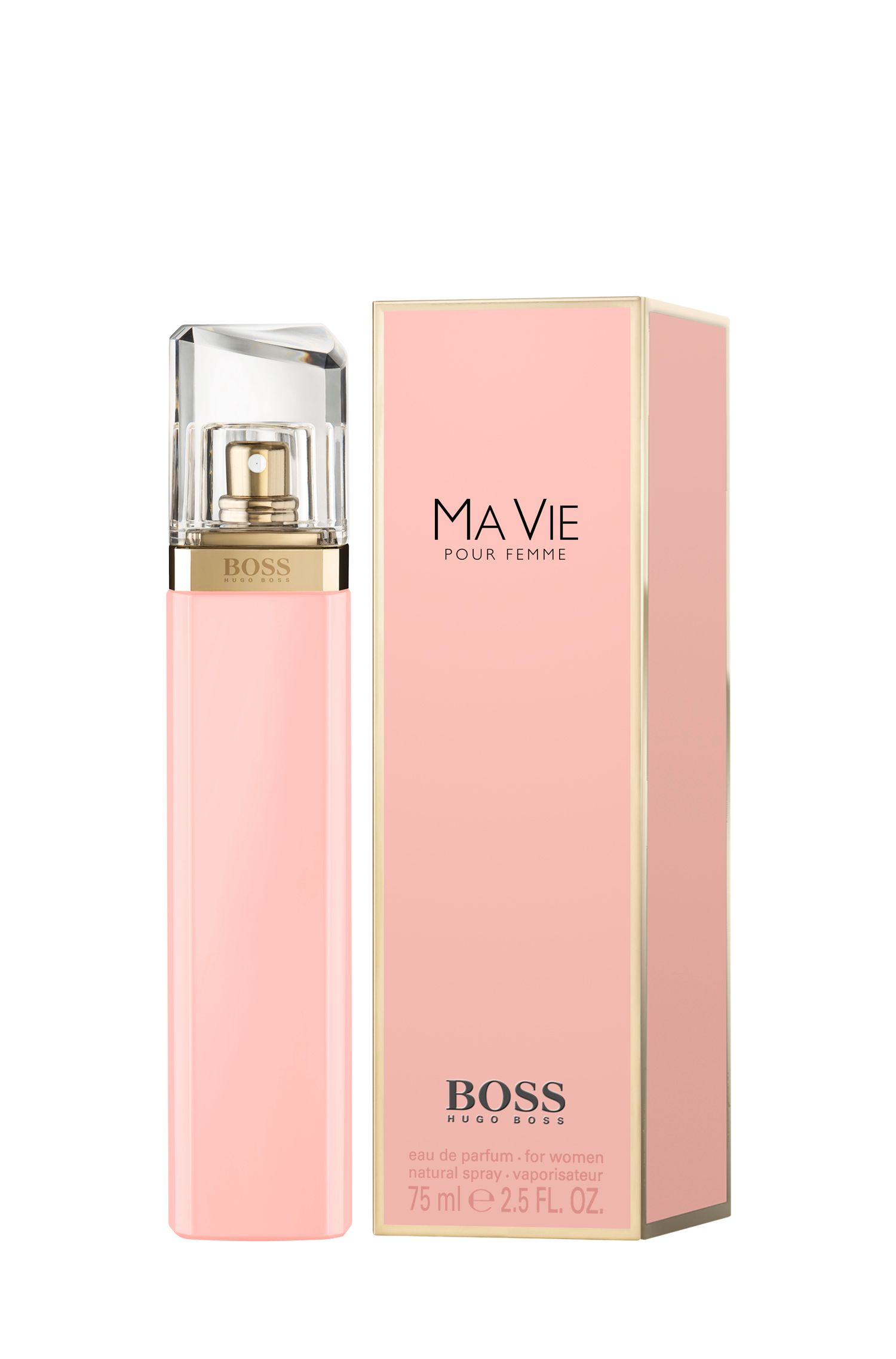 2.5 oz (75 mL) Eau de Parfum  | BOSS Ma Vie, Assorted-Pre-Pack