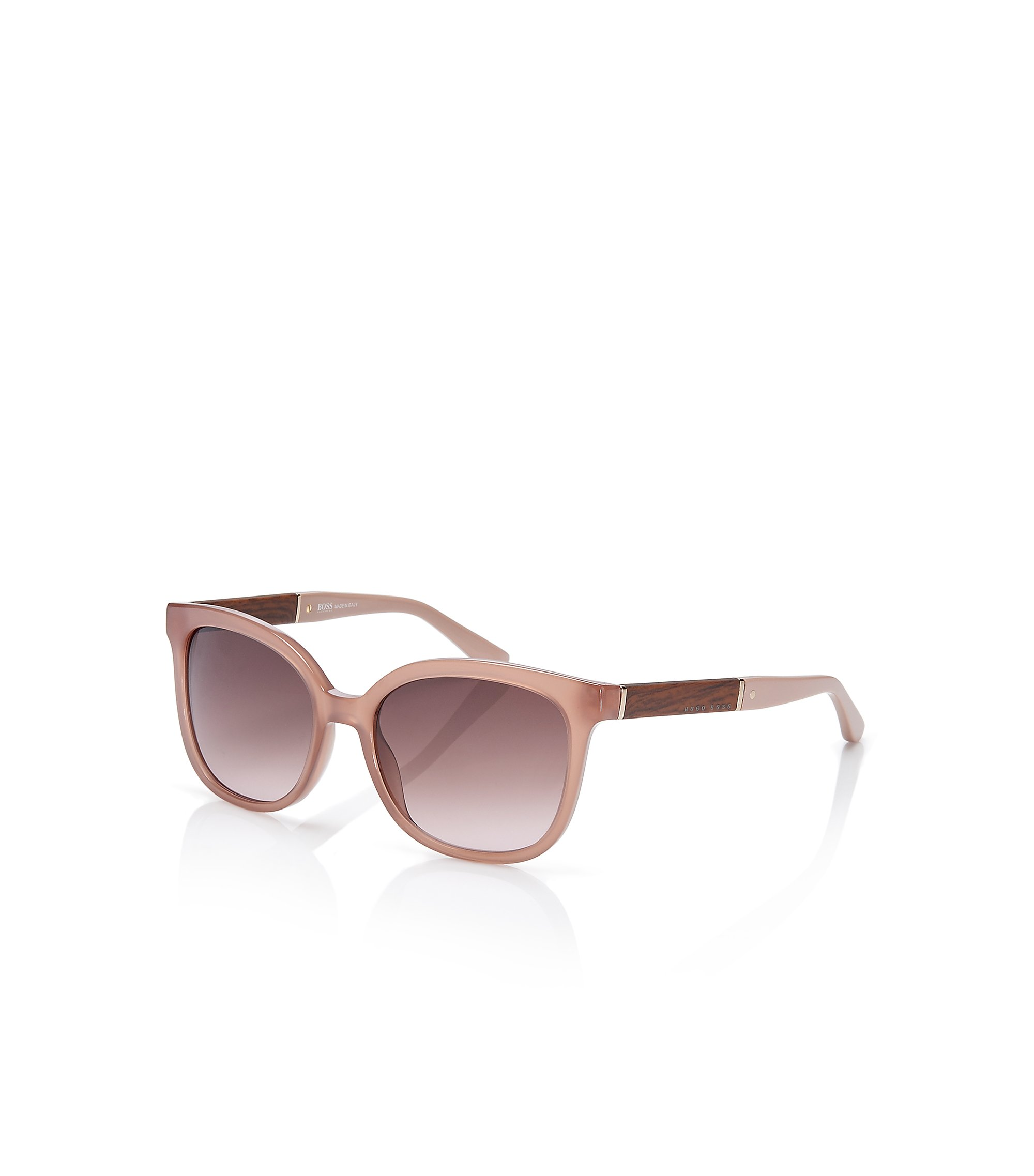 Rectangular Wood Pattern Sunglasses    BOSS 0663S, Assorted-Pre-Pack