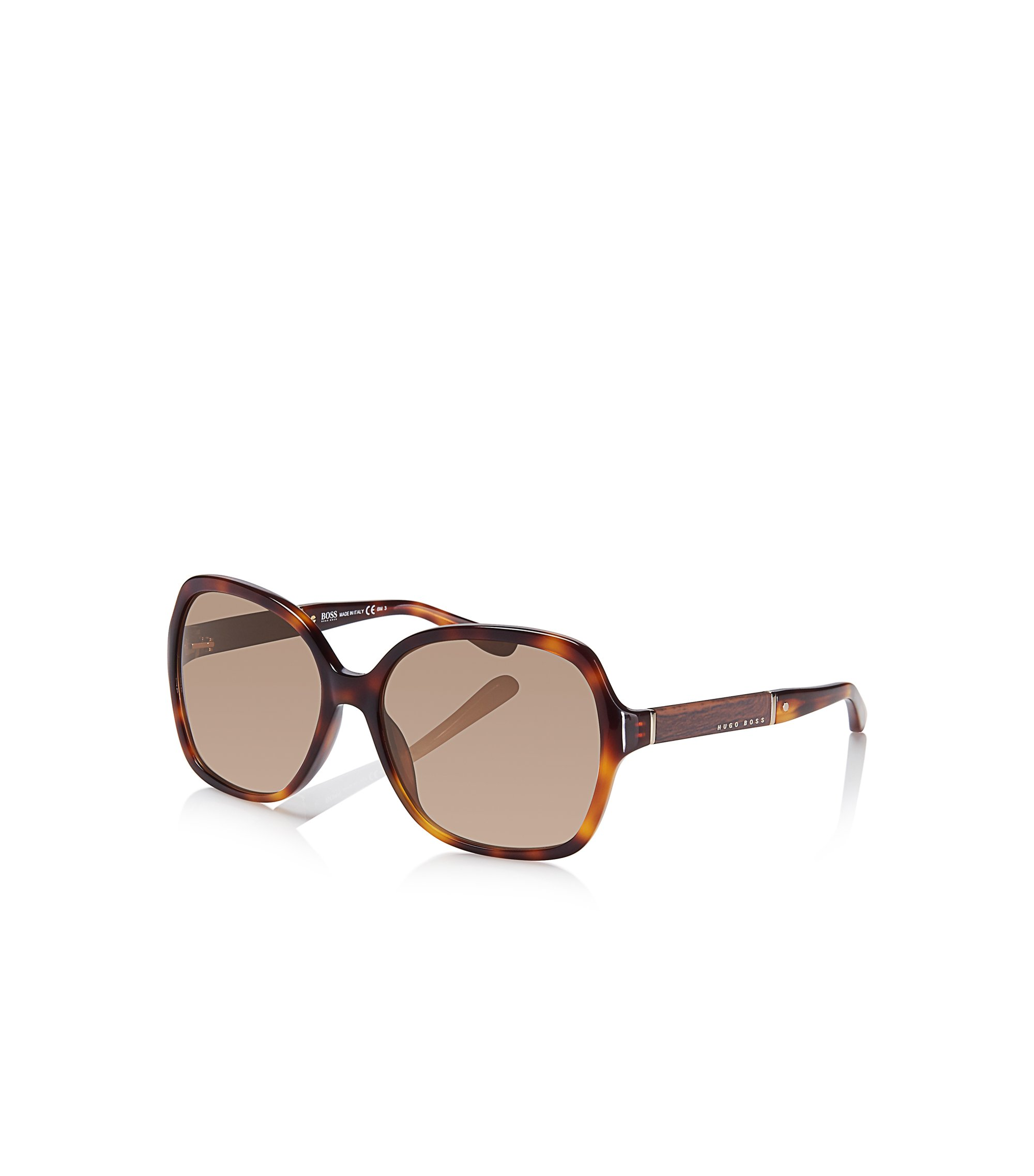 Square Tortoiseshell Pattern Sunglasses | BOSS 0664/S, Assorted-Pre-Pack