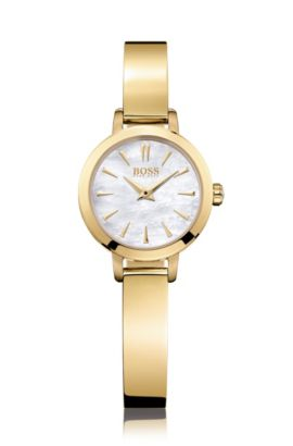 '1502368' | Gold-Tone Bracelet 3-Hand Quartz Watch , Assorted-Pre-Pack