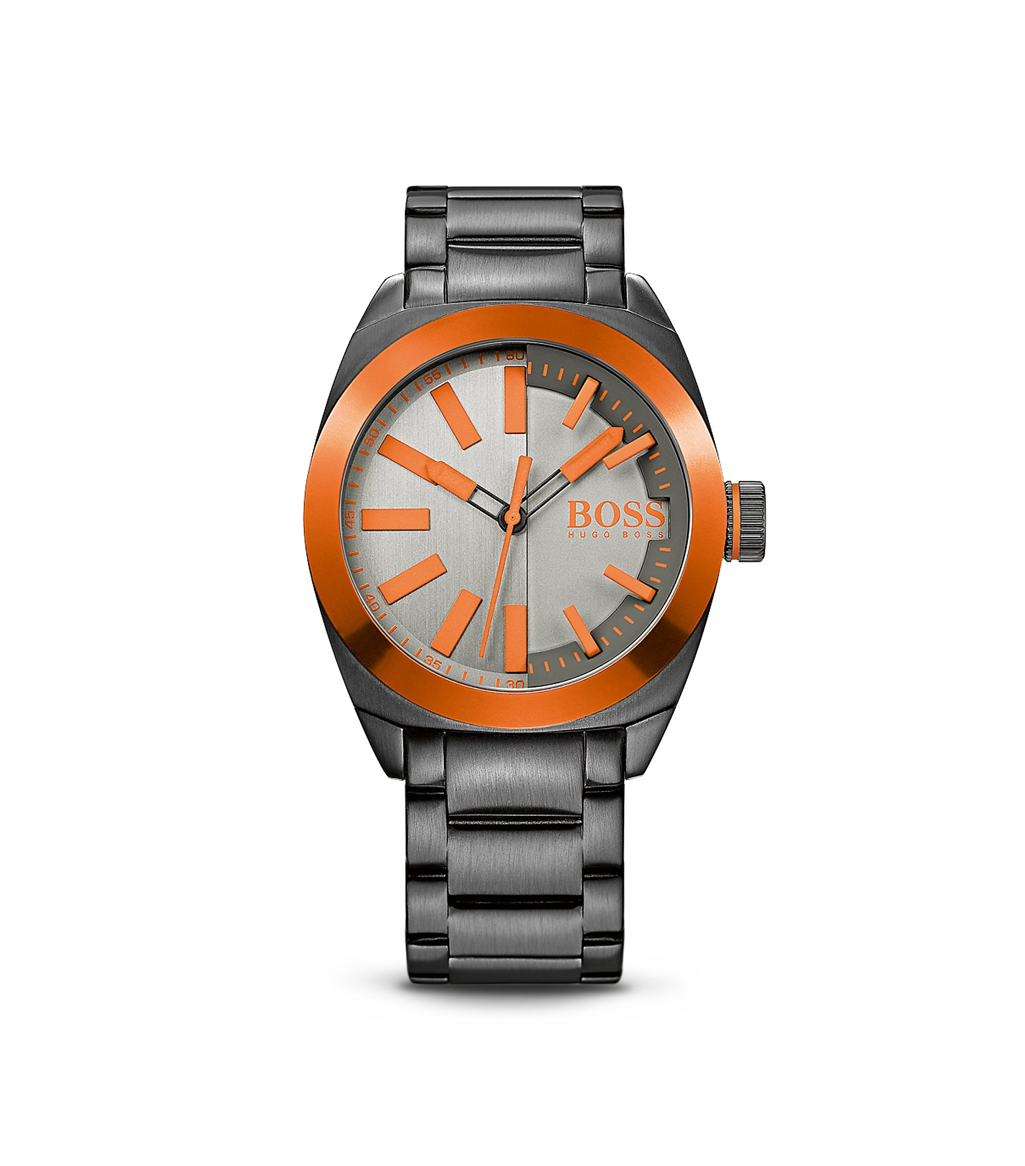 '1513057' | Steel Bracelet Strap 3-Hand Quartz London Watch, Assorted-Pre-Pack